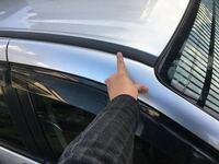 このパーツの外し方をご存知の方、いらっしゃいましたら教えて下さい。 車両の屋根部、指で示している黒い部品です。 車両 MAZDA MPV (lw3w ) よろしくお願いします。