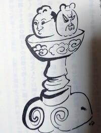 獄門像について何かご存じの方はいますか? 今日地域の歴史などについて書かれている本を読んだときに記述がありました。しかしネットで探しても見つかりませんでした。 何かご存じの方は情報をお願いします。 画像は本に載っていた獄門像の絵です。