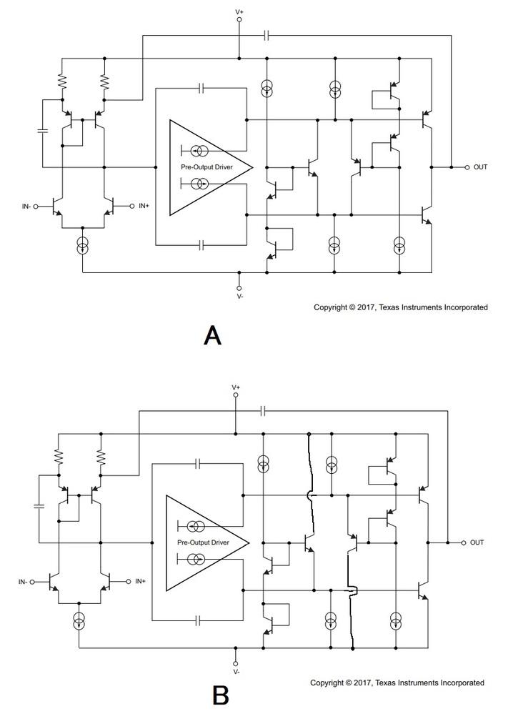 オーディオでも有名なオペアンプOPA2211に関する質問です。 https://www.tij.co.jp/jp/lit/ds/symlink/opa2211a.pdf TI社の高性能OPAMP...