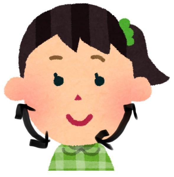 骨格の問題なのか、エラから顎にかけて(画像の矢印らへん)の頬肉?が多すぎるのか 笑顔の写真をとると横から見ればシュッとして見えるのですが、正面だと太って見えます 顎がないというか、丸い面長?に見えます 美顔ローラーでいつもコロコロしたり 顔のマッサージをしているのですが 直りません どうしたらいいですか