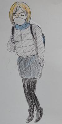 昨日駅で気になる女性を見かけました。 派手な格好なわけでもなく、特別おしゃれとかトレンドとかいうわけでもなく、背が高いわけでもなく、ごく普通なのに、目を引きました。  私はその女性が遠くから歩いてくるときに何となく素敵だなと思って目を奪われました。  年齢は30代~40代くらい。  服装はグレーのウルトラライトダウンぽいショートジャケットにミニスカート、黒タイツ、黒いブーツ、黒に近い紺色マフ...