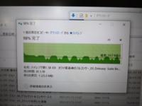 USB3.0メモリ(FAT32,256GB サンディスク)をUSB3.0のコネクタに挿して2GB位のファイルをコピーしたから写真のように速度に波があります。こんなもんですか? 速度も20MB/sでリミッター制限みたいな感じです。 ...