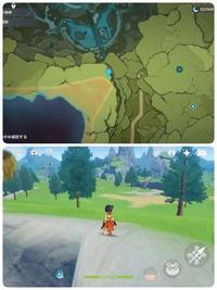 RPGの原神のワープポイントについて モンドの明冠山地のワープポイントがみつかりません。地図の場所にしっかりいるはずなのですが、上に昇っても下に降りてもマップに記されてる場所にはないように思えるのですが...バグなんでしょうか? それとも見落としでしょうか?ここだけが見つからなくて...