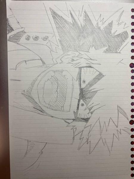 今までかんたんなイラスト?とかはノートの隅っこにちょちょっと書いたりはしてたんですけど、ちゃんとした?絵を描いてみようと思って、ヒロアカのかっちゃんを描いてみました。めちゃくちゃど素人で、申し訳...