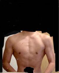 この体どうですか? 高校生です筋トレはしてません。部活はやってます。