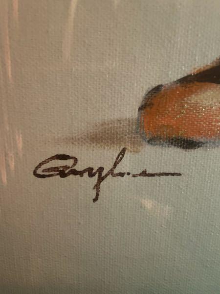 このサインの画家さんが、どなたかご存知の方いらっしゃいませんか??