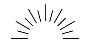 最近のデザインでよく見かける太陽光線というか装飾のような添付のイラストは、何か呼び方がありますか? フリー素材で使えるものを調べたいのですが、なんとキーワード検索していいかわからず困っています。