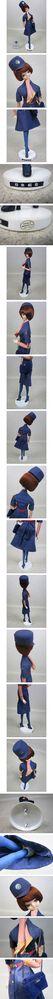 JALの昭和レトロ人形は52年と53年はバージョンが違うのは本当なのでしょうか?