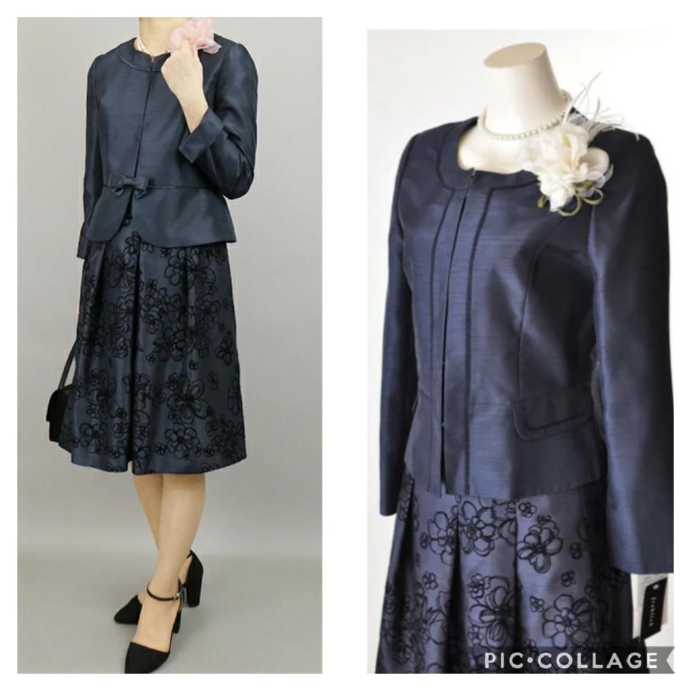 卒園、卒業式や入学式に母が着るスーツなのですが、画像のデザインってどうでしょうか? アラフォー...