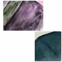 水彩画の色ムラについてです。 私はvif Artの細目を使い、ホルベインで水彩画を描いているのですが、単色で塗りつぶそうとした時、 どうしても画像の上のように汚くなります。 理想は下の画像のように、ムラなく...