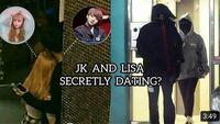 BTSのジョングク、リサについて カップルなんですか?