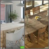 家具のエイジング塗装オーダーについて。 普通のウレタンのテーブルを写真のように加工してもらえる工房などはありますか。  そして仮にあったとしても、手間賃を考えると この手のテーブルを探してきて購入する方が 安いイメージでしょうか。  購入した家具店の補修工房では、補修メインで やっているので、加工とかっていう場合、その仕上がりの責任は持てないと言われました。  エイジング加工をしてもらえる工...