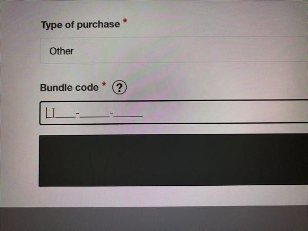 launch Padを持っていて、エイブルトンLiveライトをやっている方に質問です。 この、バンドルコードってなんでしょうか 教えてください。