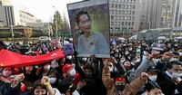 ミャンマーのクーデターと日本の外務省の関係を教えてください。 ───── 外務省前で約3000人の在日ミャンマー人が抗議デモ