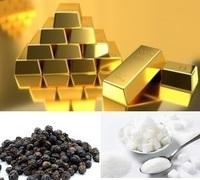 かつて黒コショウや白砂糖は黄金と同じ価格で取引されたのですか? 大航海時代に当時のヨーロッパではあまり算出できなかった黒コショウや白砂糖、それらを求めて大海原へ交易船をかけさせていきました。  そして、そうして貿易商や船長らが手に入れた黒コショウや白砂糖はとても高価なものであり、ヨーロッパへ持ち帰ると同じ量の砂金などと交換できたために、交易船が帰還できればとても実入りが良かったと!  どうな...