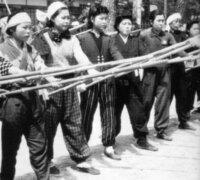 竹槍にはどの程度の殺傷能力があるのですか?槍術の達人ならば、銃を持たない太平洋戦争中のアメリカ兵との一騎打に勝てたのでしょうか?