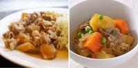 豚肉料理で選ぶのは、生姜焼き?それとも肉じゃが?