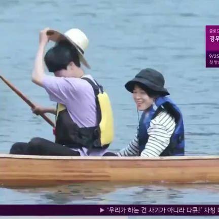 ジミンがボートに乗っている映像はどこで見れますか??