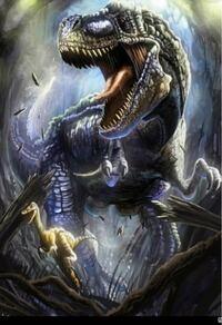 ティラノサウルスVSライオン50頭 先ずあり得ない話ですが、仮に闘ったらどうなると思いますか?