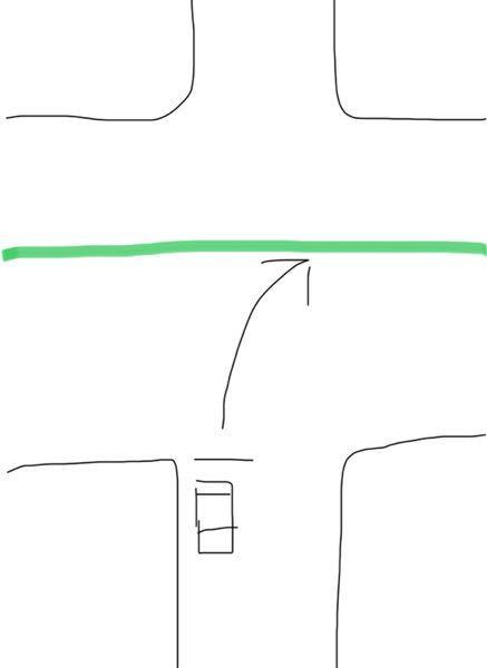 指定方向外進行禁止がない交差点で右折したいのに中央分離帯の苗木が邪魔で通れません。馬鹿げた質問ですが物理的には無理でも法的には右折可能なのでしょうか?もし可能だとしたら苗木置くのは右折に対する妨害だと 思いますが。指定方向外進行禁止が無ければ右折可能と習いました。