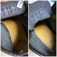 先程届いたドクターマーチンを少し試し履きした程度なのですが、左右で内側の素材にかなりの違いがあります。 履き方が悪かったのでしょうか? それとも不良品?この程度では不良品とは言いませんか?  片方はツ...