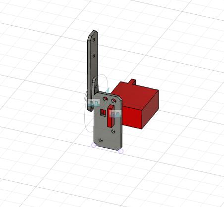 二足歩行ロボットを作成するためにFusion360を使っているのですが、分からないことがありますのでこちらで質問させていただきます。 添付した画像は複数のパーツを使用しているのですが、これを一つ...