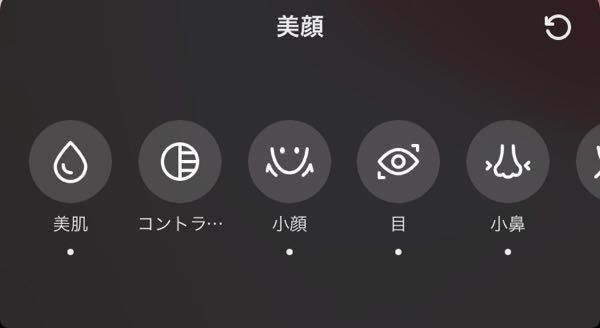 私TikTokの加工がめっちゃ好きなんですけど、(スタンプじゃなくて小顔効果とかリップとかです)似たような加工できるカメラアプリってありますか?