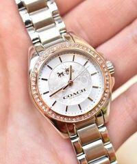 coachのレディース腕時計なのですが 写真のものを探しています。 型番などわかる方いますか?