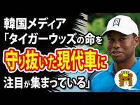 タイガーウッズ選手の命を守った韓国製乗用車が日本で販売されていないのは何故ですか?