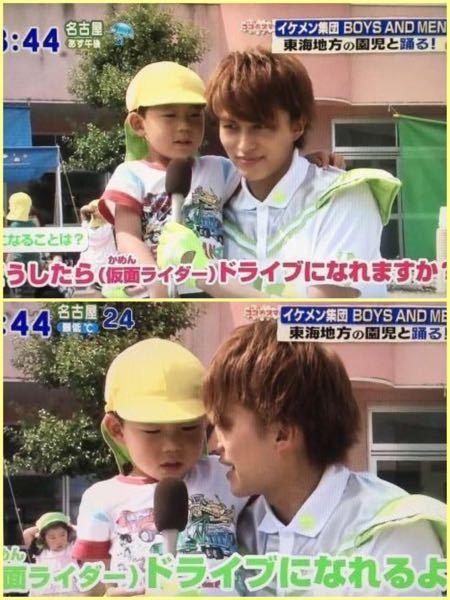 この画像っていつのものか分かりますか? BOYS AND MEN 小林豊 仮面ライダードライブ 仮面ライダーバロン