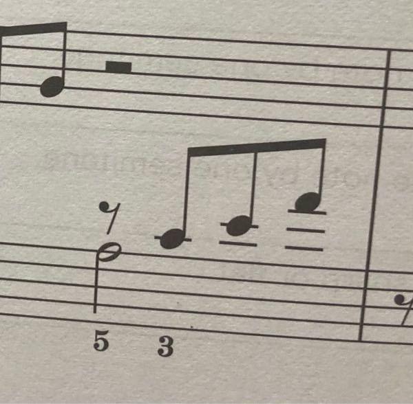 楽譜についての質問です この画像のト音部記号はなぜへ音部記号の場所に書いてあるんですか?