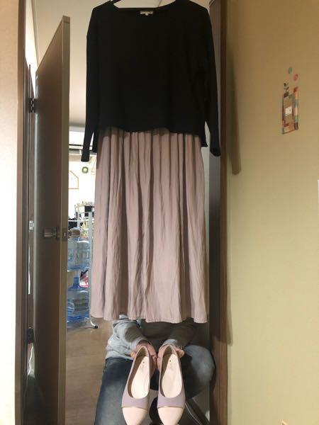 安産祈願の服装について教えてください 私はこの服装で大丈夫ですか? ワンピースは少しくしゅっと...