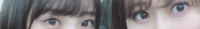 坂道パーツクイズ其の281⊿ 画像の現役または、元坂道メンバーは  左右それぞれ、誰と誰でしょう?