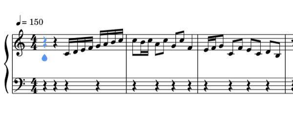 よくテレビで高級レストランやグルメ紹介のBGMとして使われるこの曲の名前が分かる方教えてください 以下は分かる範囲で作成した楽譜です