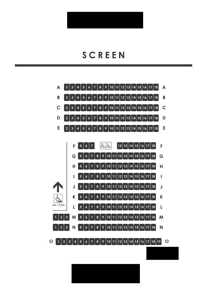 映画通様この映画館の当たりの席はどこですか? 自分はG-9を取ってしまったのがどうでしょうか・・・