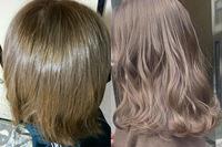 一昨日初めて髪を染めました。 右の写真を見せて、お願いしたら 左の髪色になりました。 写真と色が違いすぎませんか? 思っていたより明るい気がします。 染めた当初は照明の違いかなと思っていたのですが、やはり髪色に納得がいきません。 美容師の方には色落ちなどが起きたら1週間以内に連絡してくださいと言われました。 連絡したら、お直しして貰えますかね? このような要望だと受け入れて貰え...