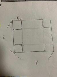 数学 写真の図は直方体です。この直方体の体積の最大値はいくつになりますか?ただし0<x<3/2とします。