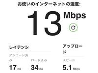 Wi-Fiのスピードテストしたのですが、早いですか?遅いですか?