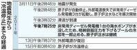 以下の東京新聞首都圏ニュース・茨城の記事の前半部分を読んで、下の質問にお答え下さい。 https://www.tokyo-np.co.jp/article/90178?rct=ibaraki (<東海第二原発の10年>(上)綱渡り 冷温停止「運が良かった」)  『二〇一一年三月十三日夜、東海村の日本原子力発電(原電)東海第二原発では、地震で失われていた外部電源が約五十三時間ぶりに復旧した...