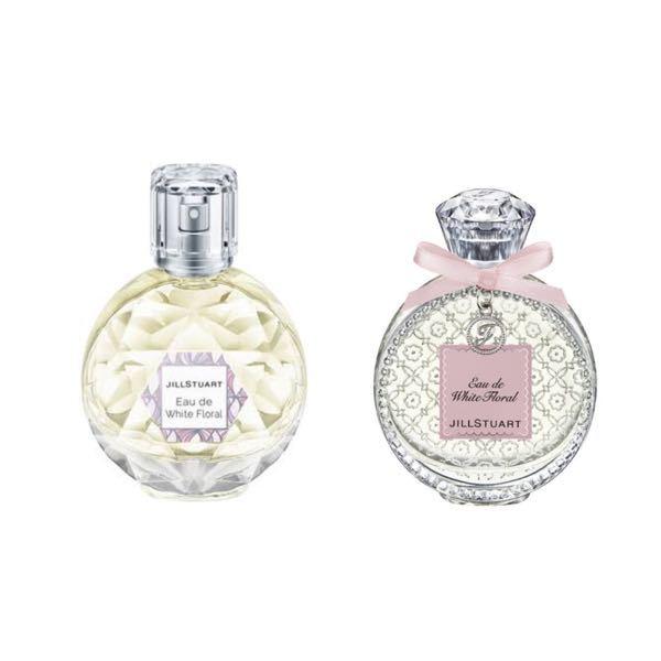 JILLSTUARTの香水なのですが、どちらともオード ホワイト フローラルと書いてあります。匂いに違いはあるのでしょう?何が違うのですか?