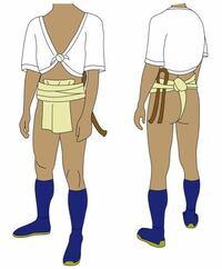 アニメ・漫画・ゲームのキャラで ①ふんどし祭りに参加しそうなのは?(複数あり) ②ふんどし祭りに参加して欲しいキャラは?(複数あり)  ちなみに参加したキャラは老若男女問わず、この画像の衣装を着用です。
