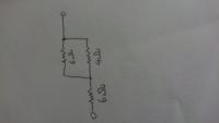 中学理科の問題です。 ここに42Vの電圧を加えたとき4Ωの抵抗に流れる電流をどのように求めるか教えて欲しいです。