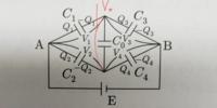 ブリッジ回路です。 なぜ V1+V0=V2なのですか?  V1-V2=V0 なら電位差になると思うのですが。