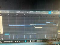 studio oneというDTMを使っているのですが、音が思っている場所に置くことができません。 この画像の2.5の縦線のところから音を入れたいのですが、微妙にズレてしまいます。何が原因なのでしょうか。
