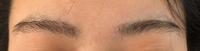 今日眉毛サロンにいくのですが、このような眉毛でも大丈夫でしょうか? 2週間伸ばしたのですがあまりのびなくて…