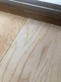 マスキングテープを写真の所の木の部分とクッションフロアの部分に貼っても大丈夫ですか? 材質 和紙 粘着剤 アクリル系粘着剤 紙菅 紙