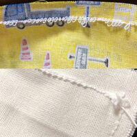 ミシンで縫いましたが縫い目が写真のようになってしまいます。 原因はなんですか。