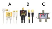 分波器を使う場合、ケーブルが元々一体型のものと、単体のものなど種類がありますが、「きれいにしっかり映る」ということを目的にした場合、どのタイプがいいのでしょうか?
