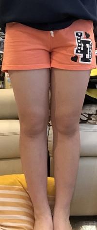 この脚って太いですか?