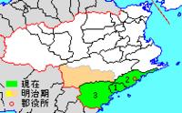 徳島県海部郡には「上灘」と「下灘」とに分かれているのですが、その境界線は何処なのですか? 美波町が「上灘」で牟岐町・海南町が「下灘」なのですか?
